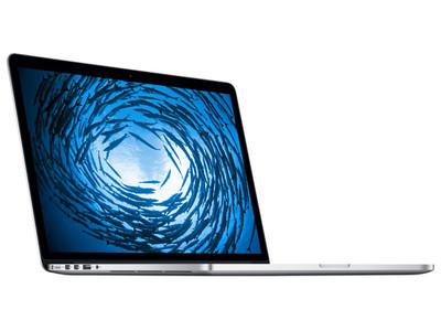 【顺丰包邮 大陆行货】苹果MacBook Pro(MJLQ2CH/A) 配备 Retina 显示屏2880x1800(I7-4770HQ 16G 256GB SSD固态)银色