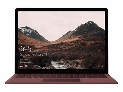 【顺丰包邮 】微软 Surface Laptop 13.5英寸超轻薄触控笔记本( i5-7200U 8G 256GSSD Windows10S)14小时续航,2256 X1504超高清