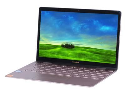 华硕 灵耀3(i7 7500U/8GB/512GB)12.5英寸超轻薄笔记本电脑FHD IPS屏 超窄边框 玫瑰金 预装office